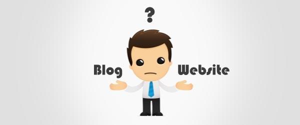 site vs blog
