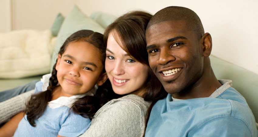 Familie interrasiala